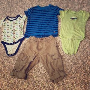 Boys 12 month tees and pants